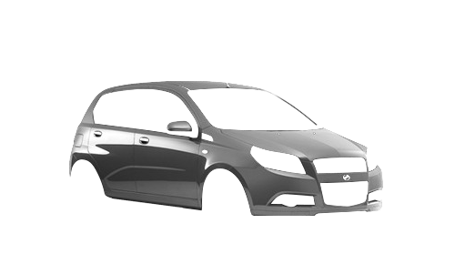 Цвета кузова Vida Hatchback